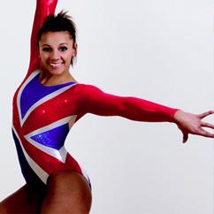 Olympic gymnast Becky Downie