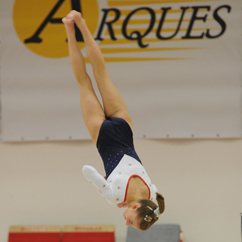 Kelly Simm GB gymnast floor routine