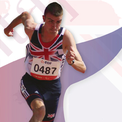 Lee Whiteley paralympic sprinter