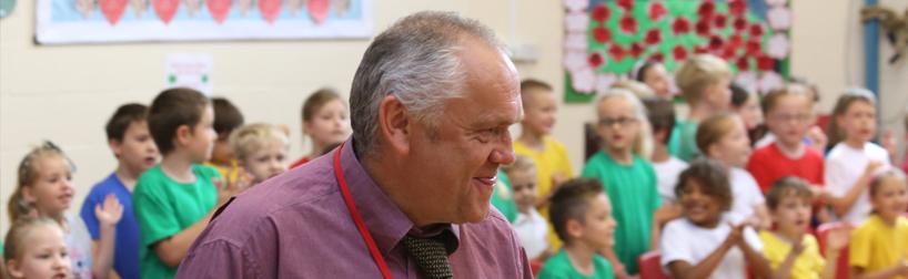 happy headteacher