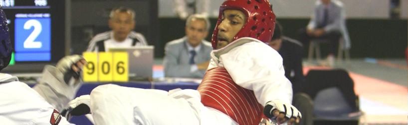 Jibreel Malik taw-kwon-do Olympian
