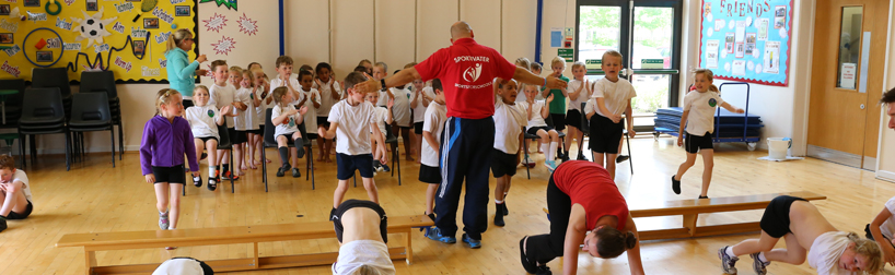 pe equipment used at sports for schools event