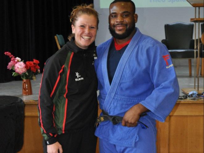 Aberdeen pupils get fighting talk from Judo Champion Theo Spalding-McIntosh