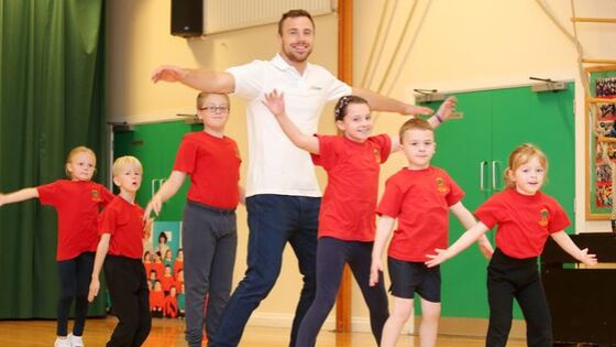 Tommy Bowe - Sports for Schools Launch